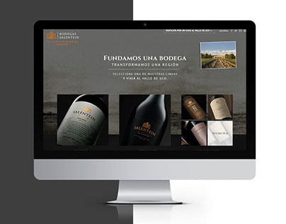 Experiencia Salentein | Bodegas Salentein | Web Design