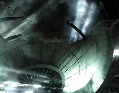 X-FILES' ALIEN SPACESHIP
