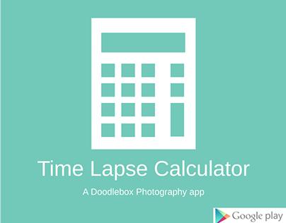 Time Lapse Calculator app