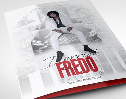 Fredo Santana Funeral Program