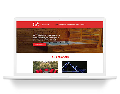 YYC Builders Website Redesign