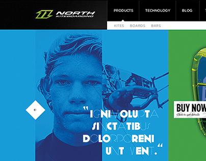 North Kiteboarding International Website Redesign