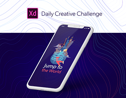 Teleportation App - XD Daily Challenge