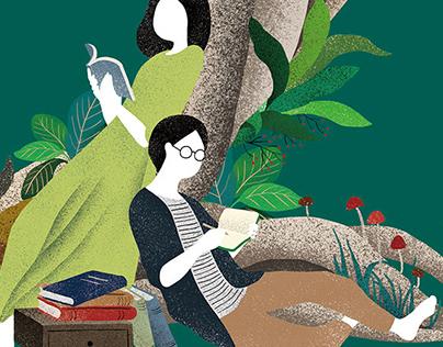 第二十屆台北文學獎主視覺