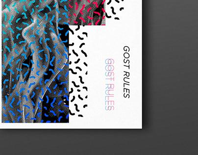 Random poster inspiration / Editorial design