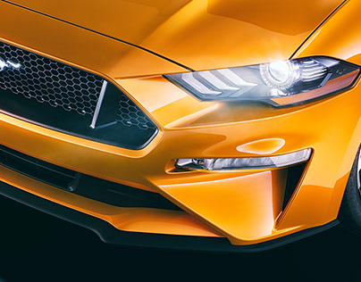Ford Mustang GT - CGI & Retouching