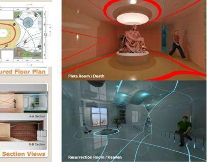 INTERIOR DESIGN MICHALENGELO'S PIETA MUSEUM PROJECT