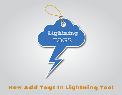Lightning Tags App Logo & Branding