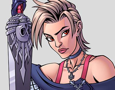 Final Fantasy X-2 Paine
