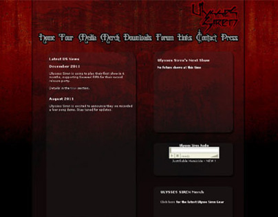Ulysses Siren - Website