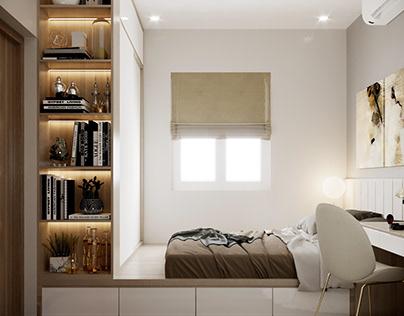 Thiết kế nội thất căn hộ chung cư K300