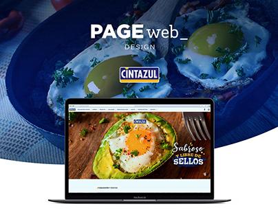 Design Web Site CINTAZUL