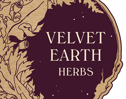Velvet Earth Herbs - Branding and Identity