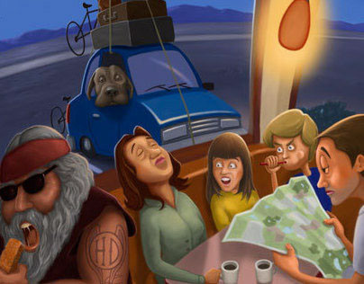 The Moment before Disaster Humorous Illustrations