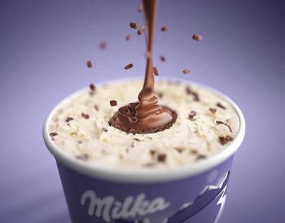 Milka Icecream //CGI