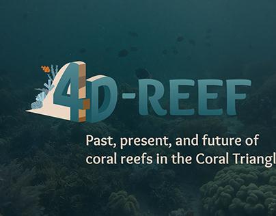 Logo & web design 4D-reef