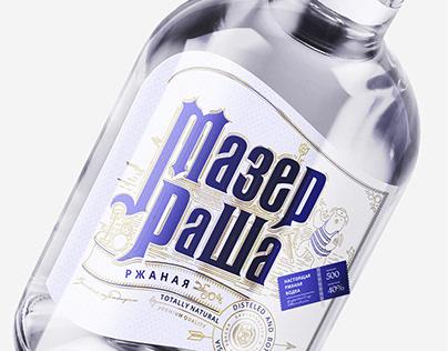 Mother Russia   Vodka bottle