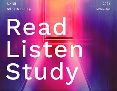 Read Listen Study. Mobile App
