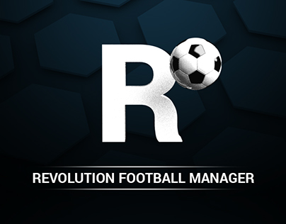 revolution football manager - icon set