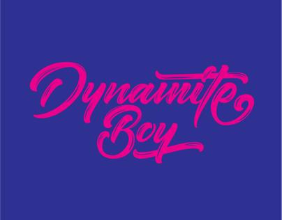 Dynamite Boy logo (just for fun)