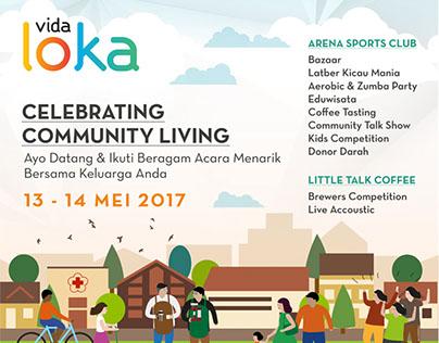Vida Loka Banner & Social Media Poster