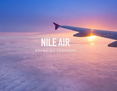 Nile Air- Branding