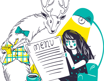 Deer coffee shop