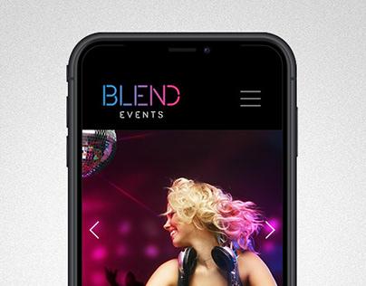 Blend Events Branding