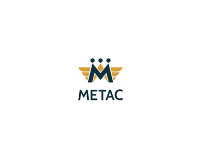 METAC Logo and Pattern