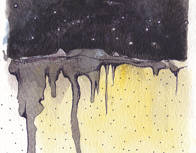 """Home"" series -watercolours"