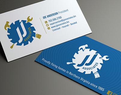 JJ Associates Business Cards