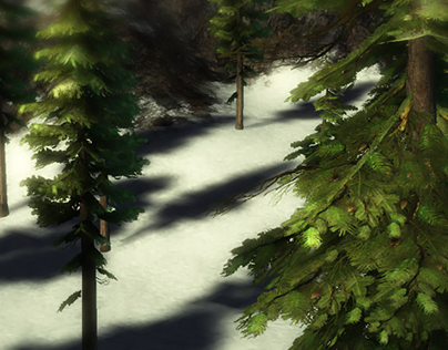 Guild Wars 2 - Fir Trees