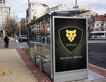 """Графический дизайн """"Security servise"""" - кейс студента"""