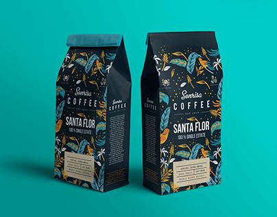 Coffee Bag Packaging Design
