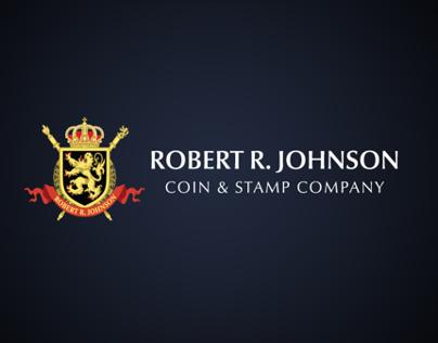Robert R. Johnson Brand Mark and Website