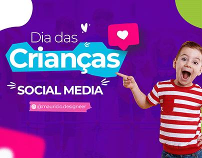 Social media - Dia das crianças 2021