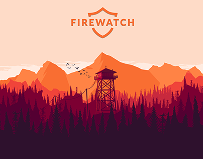 Firewatch Graphic Art