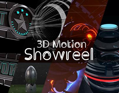 3d motion Showreel