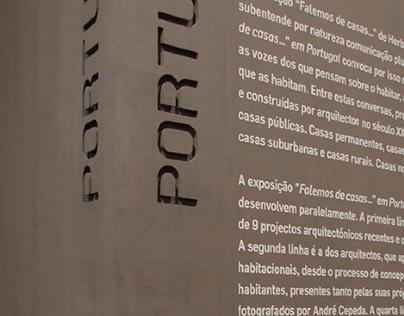 Lisbon Architecture Triennale Signage