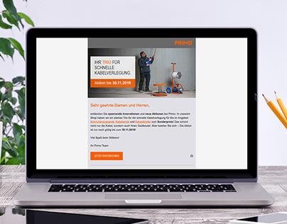 Primo Newsletter Design