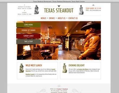 Website Design & Development of TexasSteakout.com