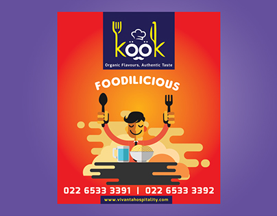 Kook Restaurant, Meal Box Design