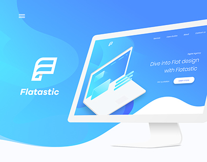 Flatastic Landing Page