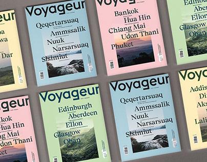 Voyageur – Editorial Design