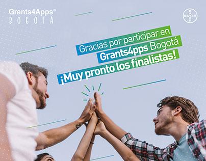 Social media - Campaña Grants4Apps