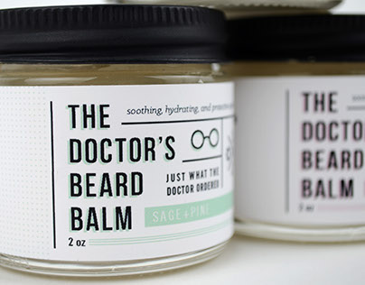 The Doctor's Beard Balm