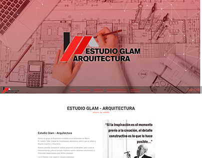 ESTUDIO GLAM | DISEÑO WEB WORDPRESS