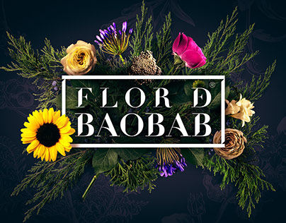 Flor de baobab (branding)