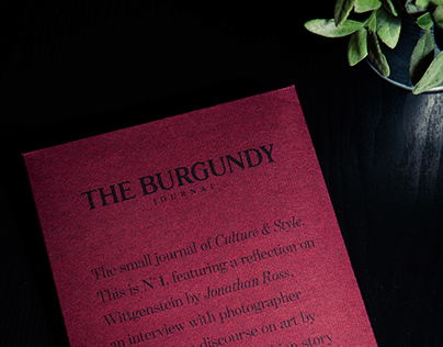 The Burgundy Journal