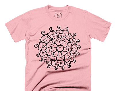 Meow-dala Shirt Design